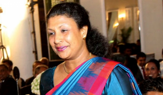 'I am not involved in the Rajapaksa party' – Nirupama Rajapaksa