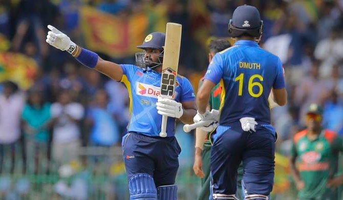 Avishka, Mathews star as SL wins series