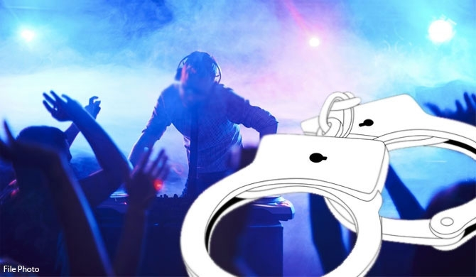 100 arrested with drugs at Facebook party in Dehiwala