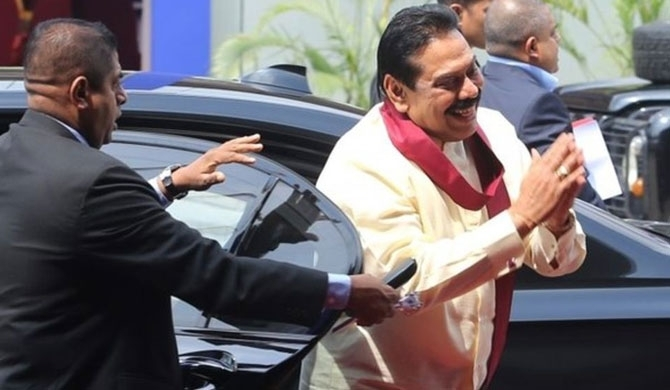 3 bulletproof cars for Mahinda