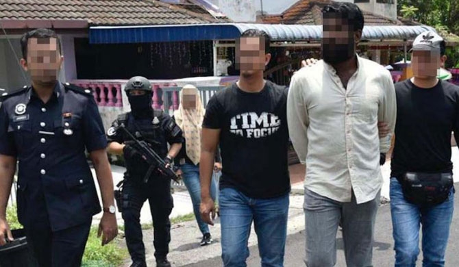 Malaysian police complete probe into 12 detained for alleged link to LTTE