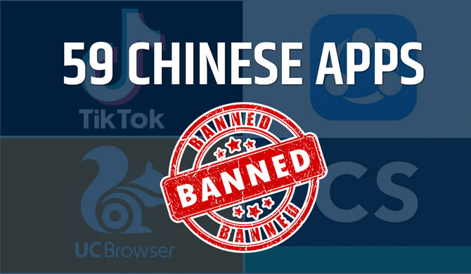 India bans Chinese apps including TikTok & WeChat