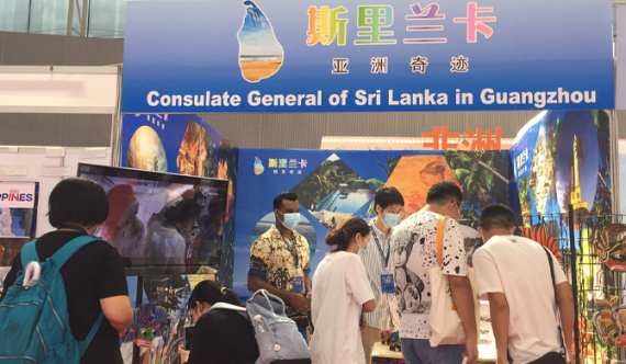 Chinese visitors fascinated by Sri Lanka at the CITIE Expo