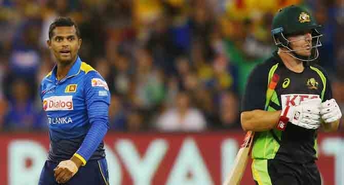 Sri Lanka wins off last ball in MCG Twenty20