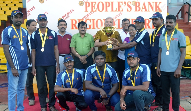 People's Bank Jaffna Sport Meet successfully concluded