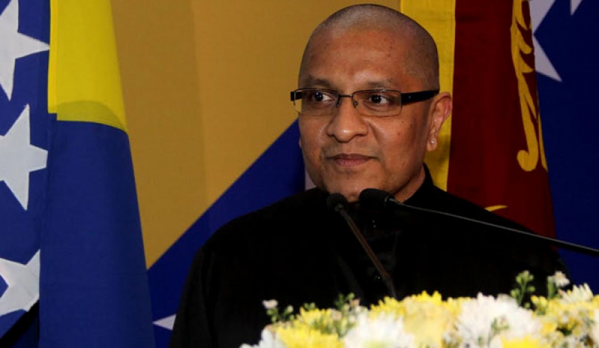 Jit Warnakulasuriya appointed Honorary Consul of Bosnia & Herzegovina for SL