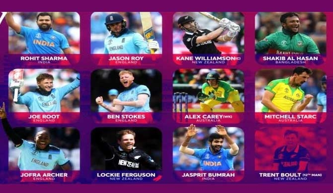 No Lankan in CWC team of tournament