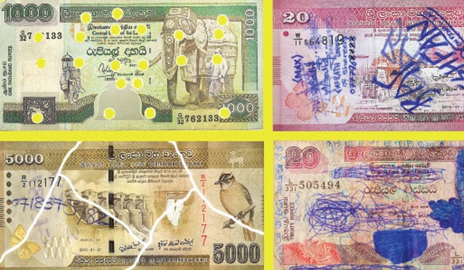 Deadline to accept defaced currency notes, extended
