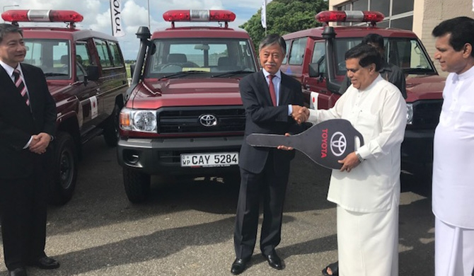 Japan assists to enhance SL's counterterrorism capabilities & public security