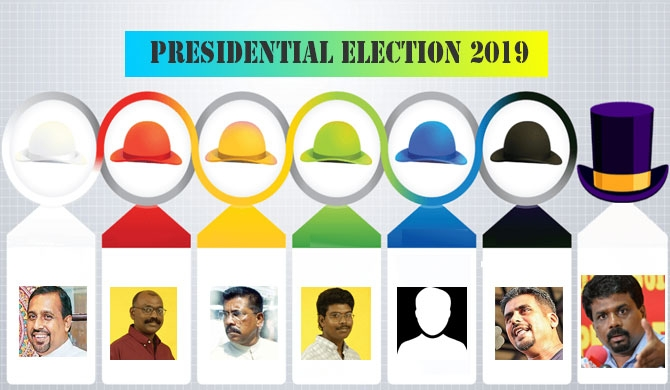 6 fmr. JVP members in presidential race