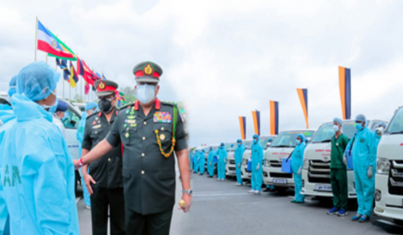 SL Army's mobile vaccination fleet launched (Pics)
