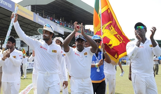 Rangana Herath is the first left-arm spinner to reach 400 Test wickets and he reached the milestone in just 84 Tests. © AFP