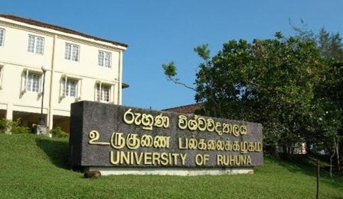 Ruhuna University closed indefinitely