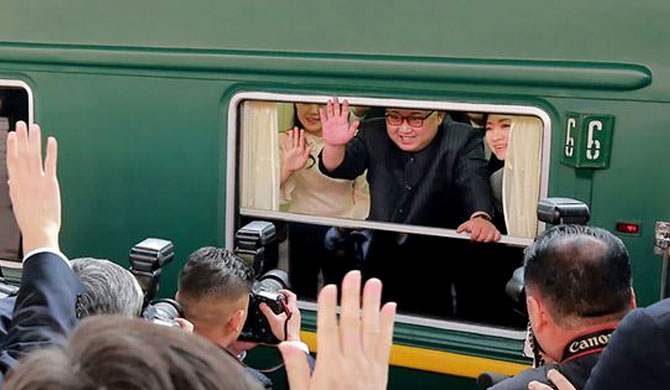 Kim Jong-un starts China tour