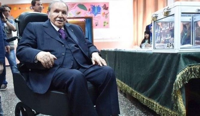 Algerian President drops bid for 5th term