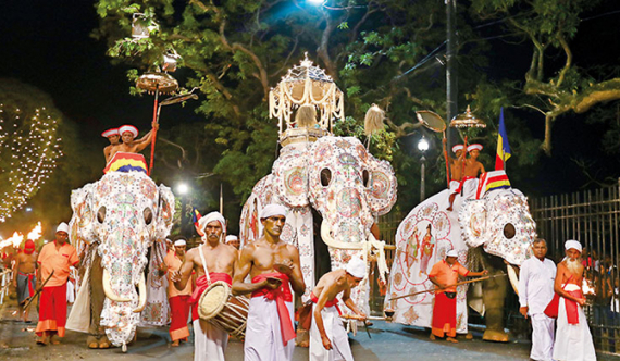 Kandy Perahera commences today with 5,600 artistes