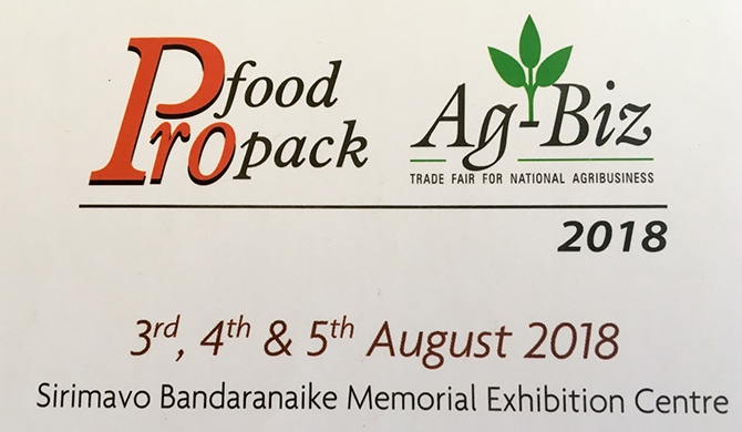 Pro Food / Pro Pack and Agbiz 2018 announced