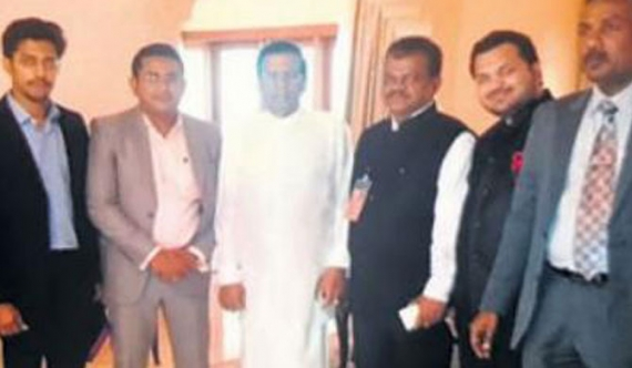 Abhishek Joshi planned a bank in Sri Lanka, met President Sirisena in Goa'