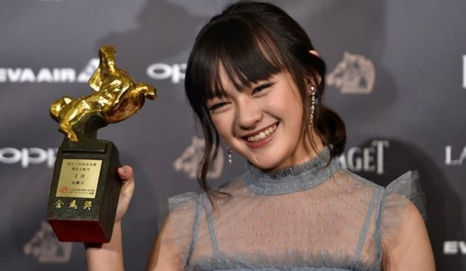Teen beats veterans at Golden Horse awards
