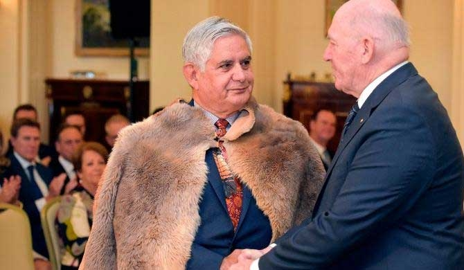 Australia swears in its first aboriginal minister