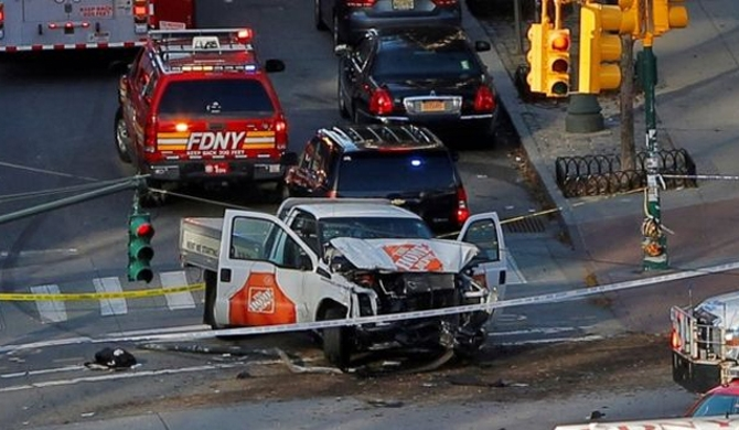 New York truck attacker kills 08