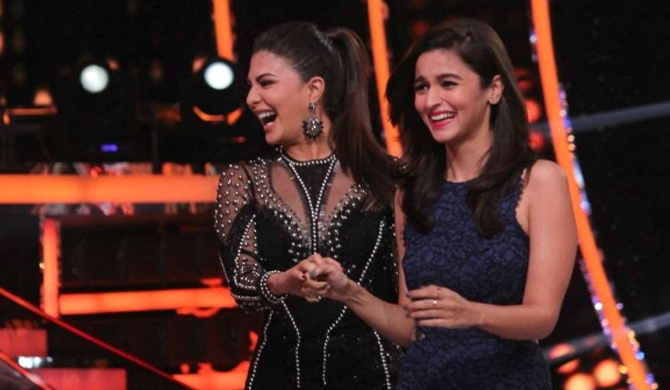 Jackie laughs off news of unfollowing Alia!