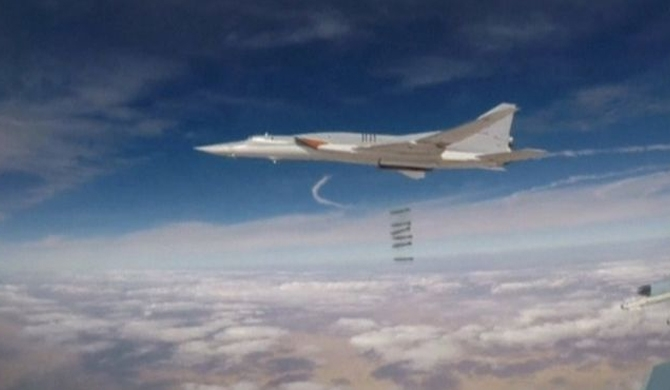 53 killed in Russian air strikes