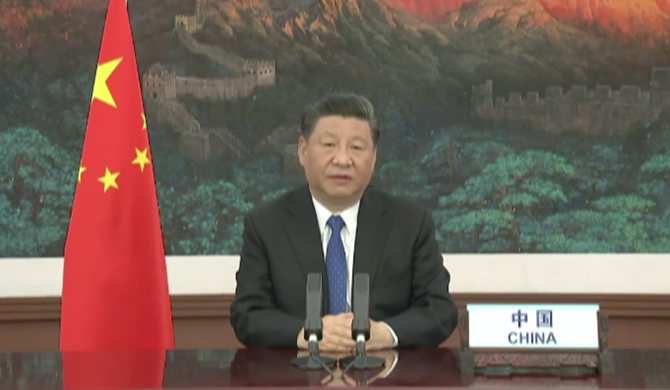 Covid-19 vaccine will be made a global public good - Xi Jinping