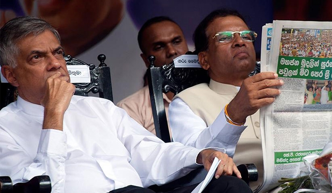 Cabinet papers only through subject minister, Maithri tells Ranil!