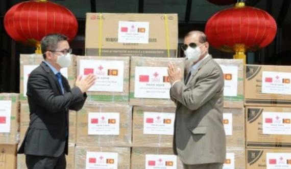 Chinese embassy donates medical equipment to BIA employees