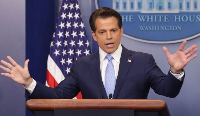 Scaramucci sacked as Trump media chief