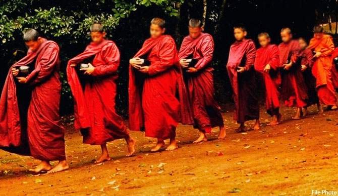 Insurance programme for Buddhist monks