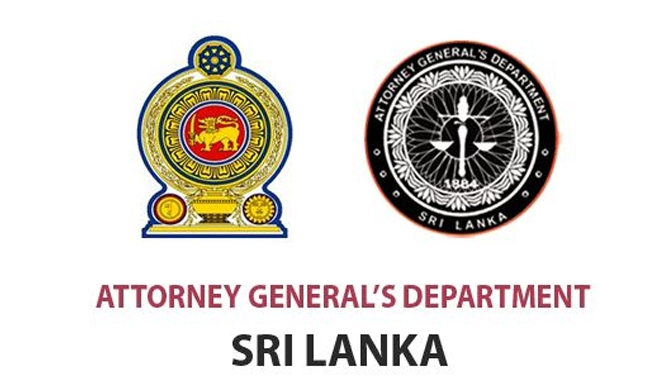 Attorney General's Dept. to be fully reorganized!