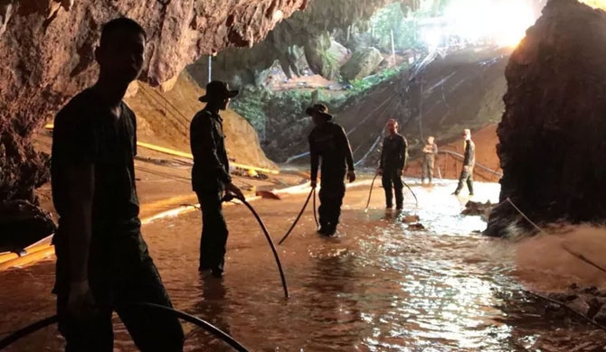 Thai cave rescue to restart