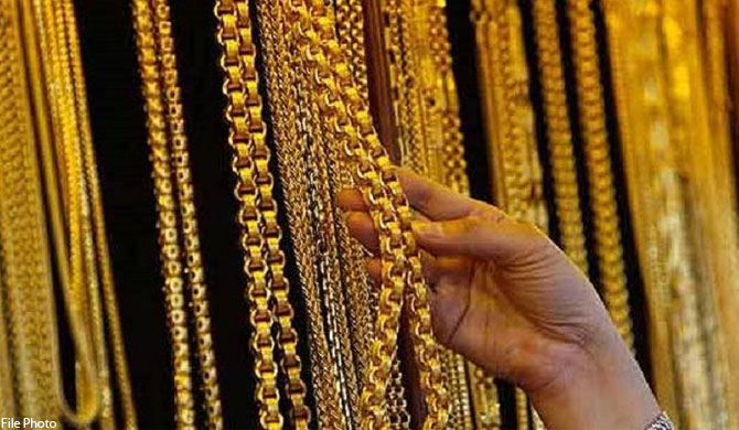 Jewelry pawning in last 6 months pass Rs. 643 b