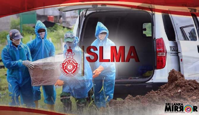 SLMA says burying Covid-19 deceased is not an issue