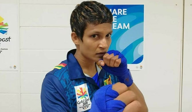 Anusha wins bronze at Commonwealth
